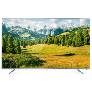 Телевизор TCL L65P6US 4K Ultra HD сверхтонкий серебристый в Нижнегорском районе фото